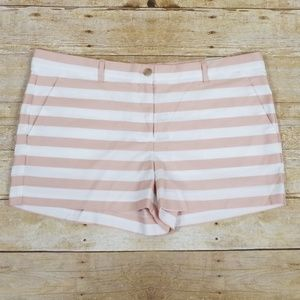 Gap Striped Stretch Short Shorts, NWT